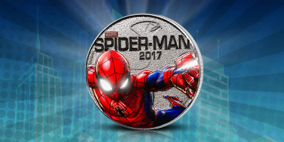 Spider-Man - Light up Coin 2017