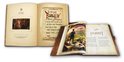 The Hobbit Book - 37 smukke frimærker med motiver fra Hobbitten