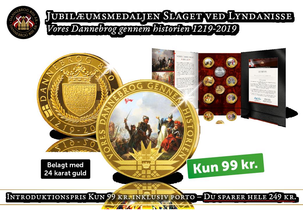 Jubilæumsmedaljen - Slaget ved Lyndanisse