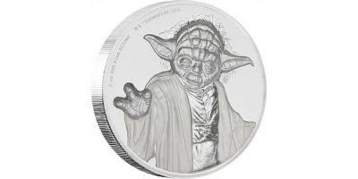 $5 Yoda -2018 Ultra High Relief 2oz