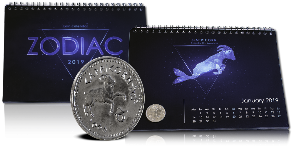 Astrologisk møntkalender for 2019